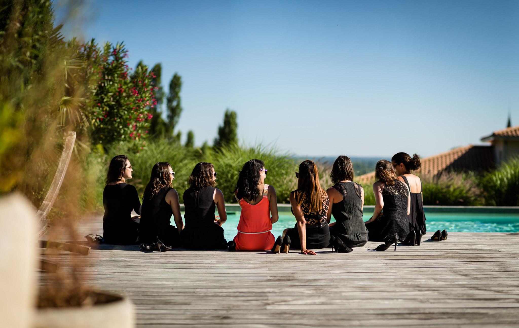Une séance EVJF classe entre filles