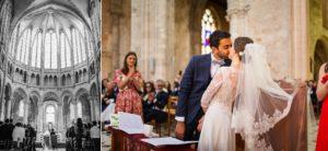 Un aperçu des photos du mariage de Claudia et Reda au Chateau de Baronville et à l'Eglise de Gallardon, entre France et Maroc.