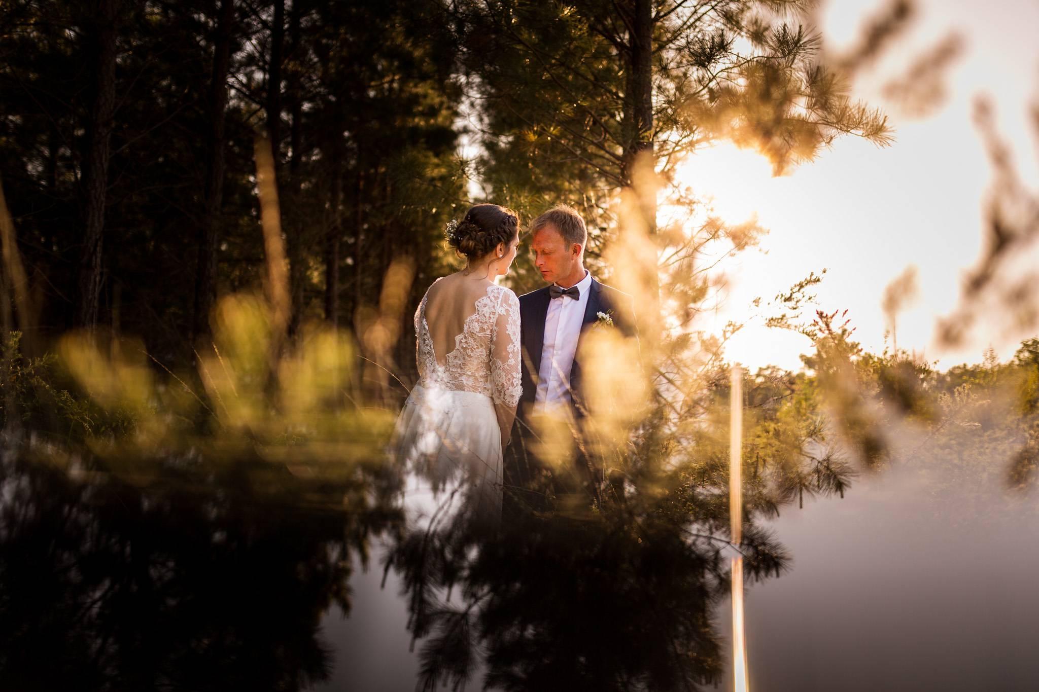 photo mariage créative