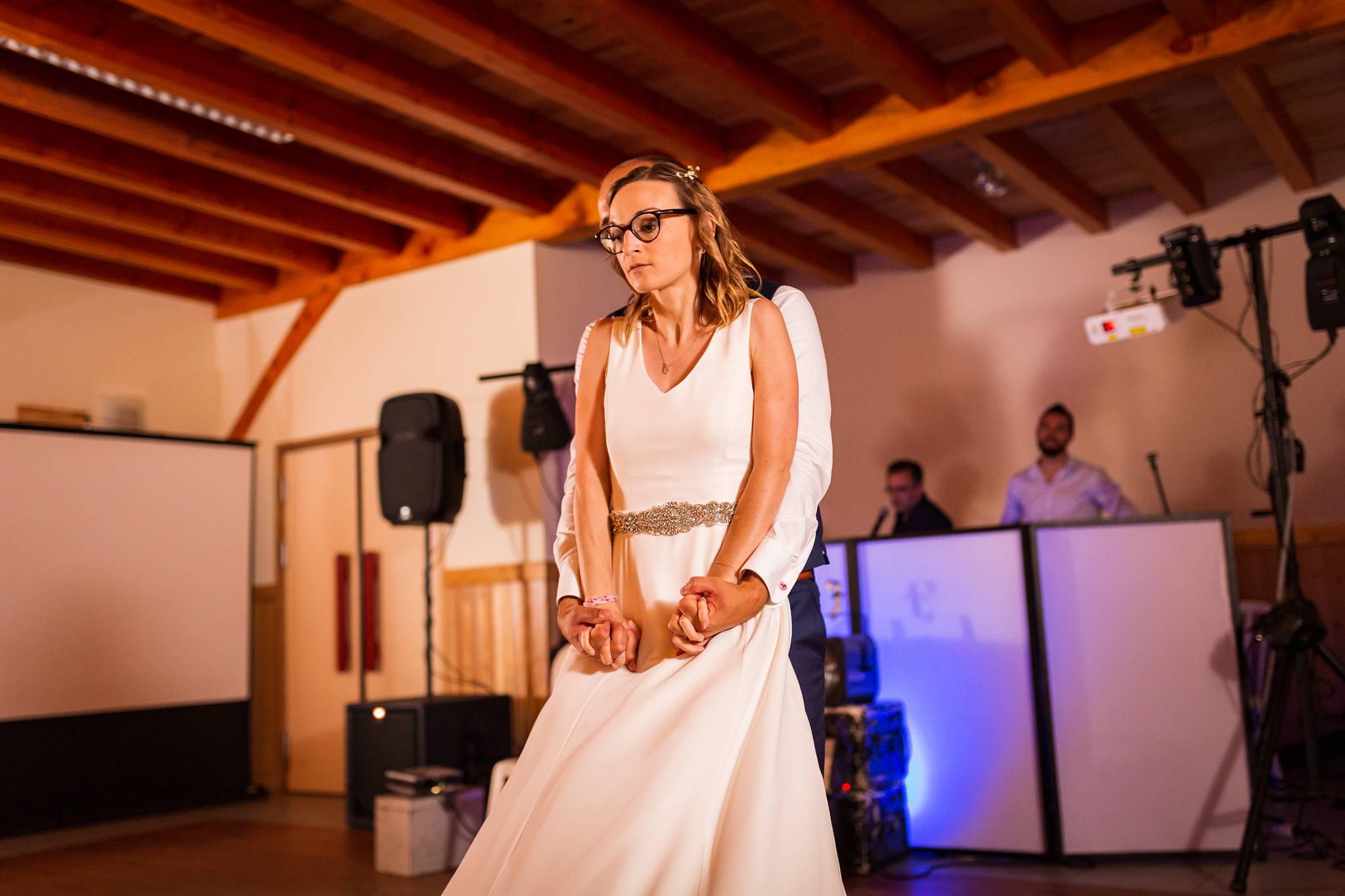 Reportage photos de mariage Zéro Déchets de Caroline et Yoann à Mios, Biganos, et à La Hesta de Biscarrosse.