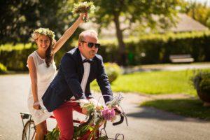 Mariage civil et photos de couple à Arès sur le bassin d'Arcachon