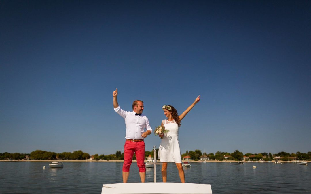 Mariage Civil à Arès Bassin d'Arcachon – A+F