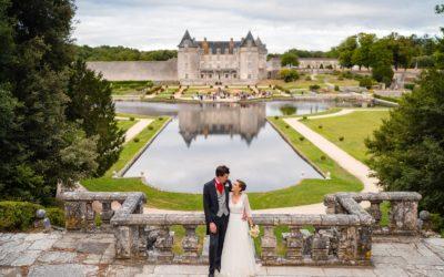 Mariage au Château La Roche Courbon – V+B
