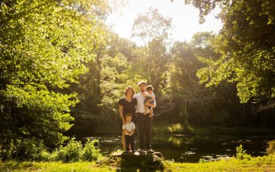 Photos de famille au Parc Majolan à Blanquefort