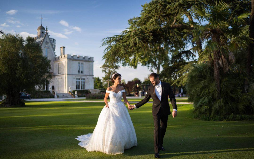 Mariage au Château Pape Clément – N+S