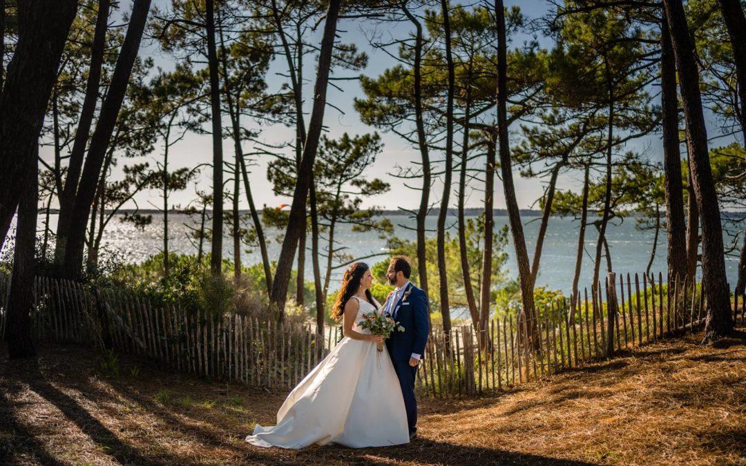 Mariage à Arcachon et aux Sources de Caudalie – T+F